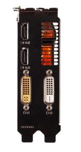 Zotac Geforce GTX 650-ports