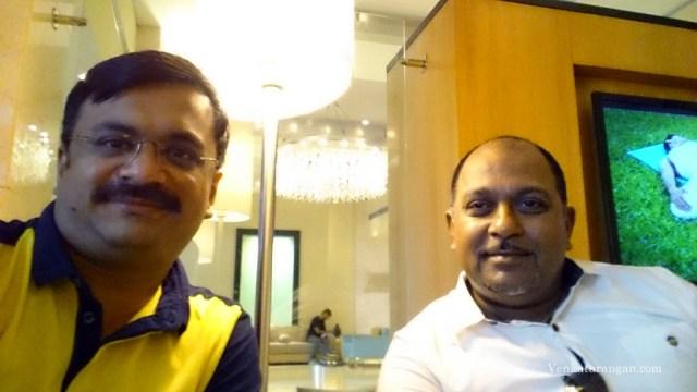 Venkatarangan (left) and Maheshkumar Ramachandran (right)