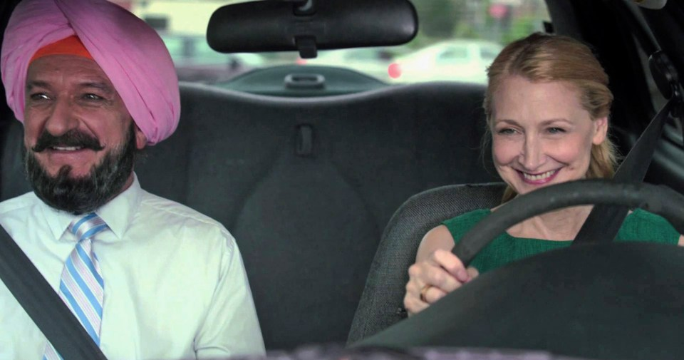 Ben Kingsley and Patricia Clarkson - Learning to Drive (2014)