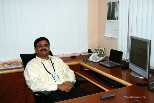 My workstation in 2007