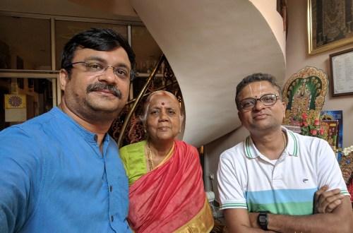 With Mr Desikan Sujatha