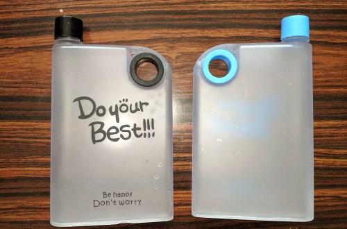 Flat Water bottle