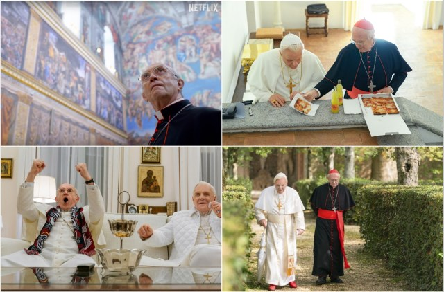 Anthony Hopkins and Jonathan Pryce - The Two Popes
