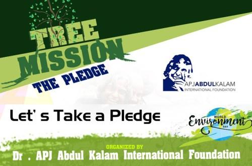 Tree Mission Pledge - World Environment Day 2020