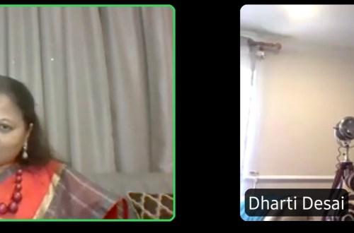 Dharti Desai in conversation with Jeyashree Ravi of Palam Silks