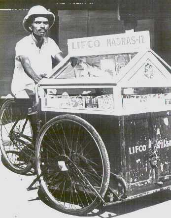 LIFCO's tricycle mobile book sales