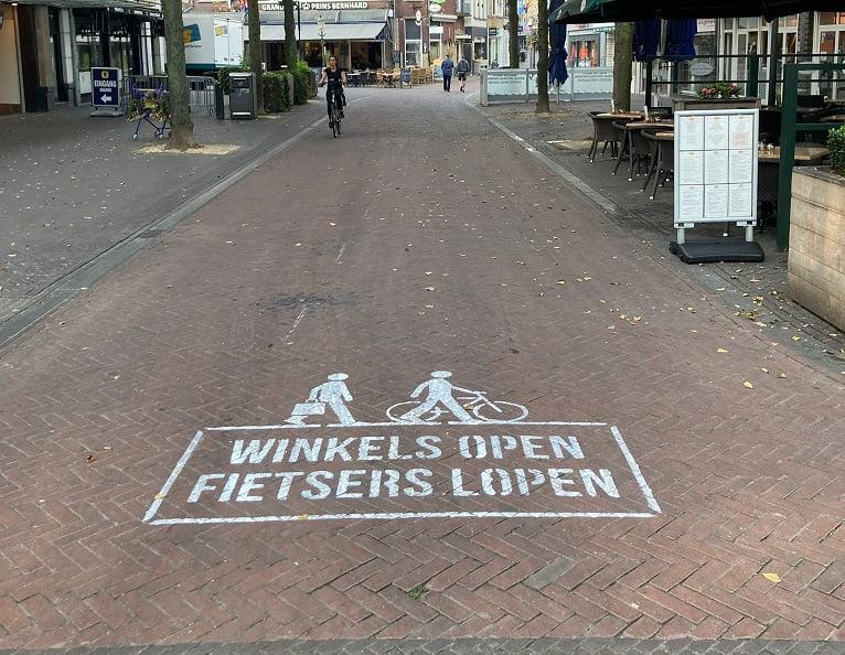 """Aanpak fietsersoverlast binnenstad: """"Ik heb het helemaal met ze gehad"""""""
