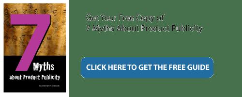 7 Myths Product Publicity