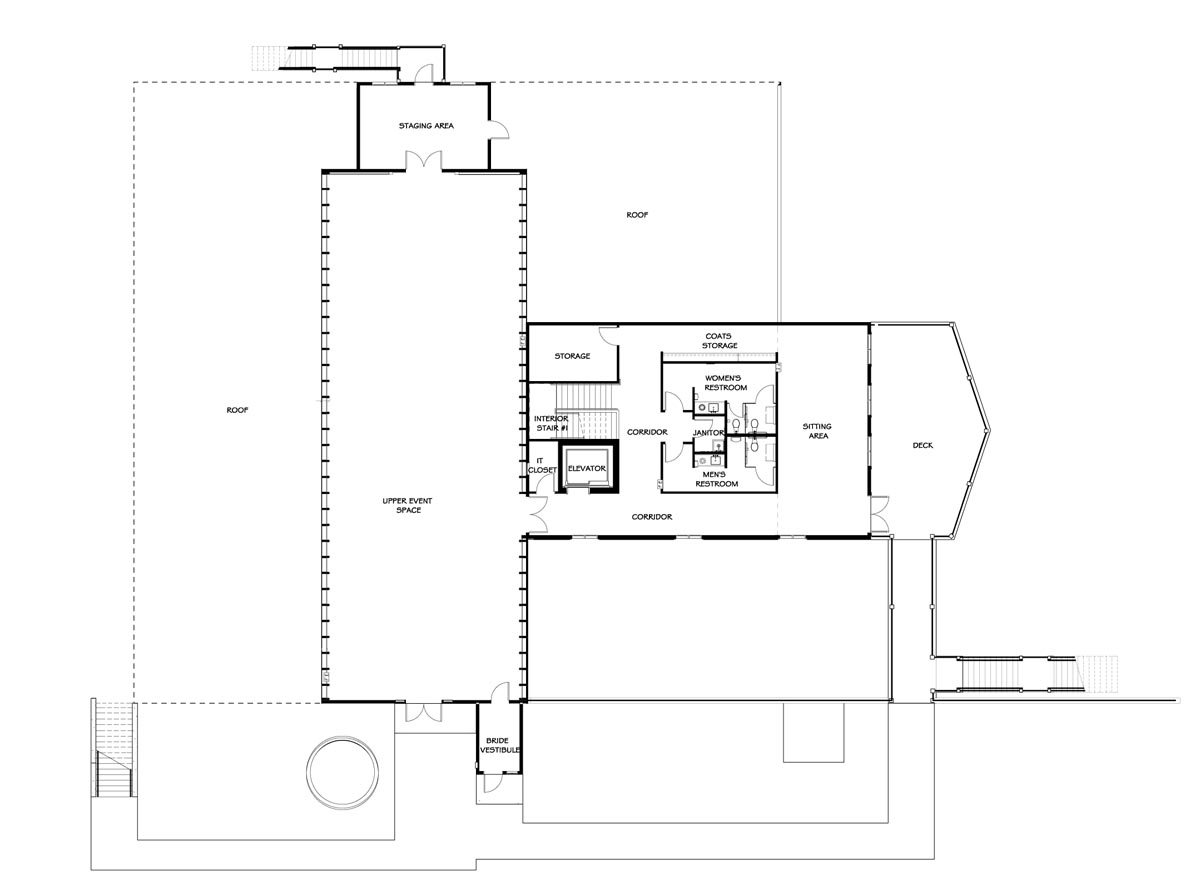 Vennebu Hill - SECOND FLOOR PLAN