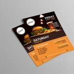 Creative Bar Restaurant Event Flyer Idea Venngage Flyer Examples