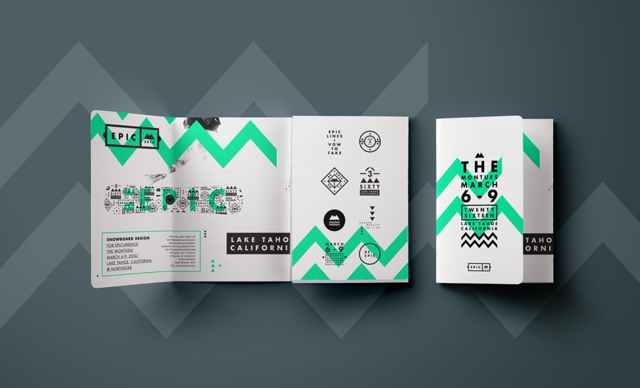 15  Travel Brochure Examples to Inspire Your Design   Venngage Gallery EPIC Green Tri Fold Travel Brochure Idea