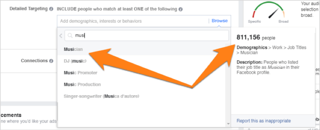 Facebook page Increase your Conversion Rate with Social Media Strategy