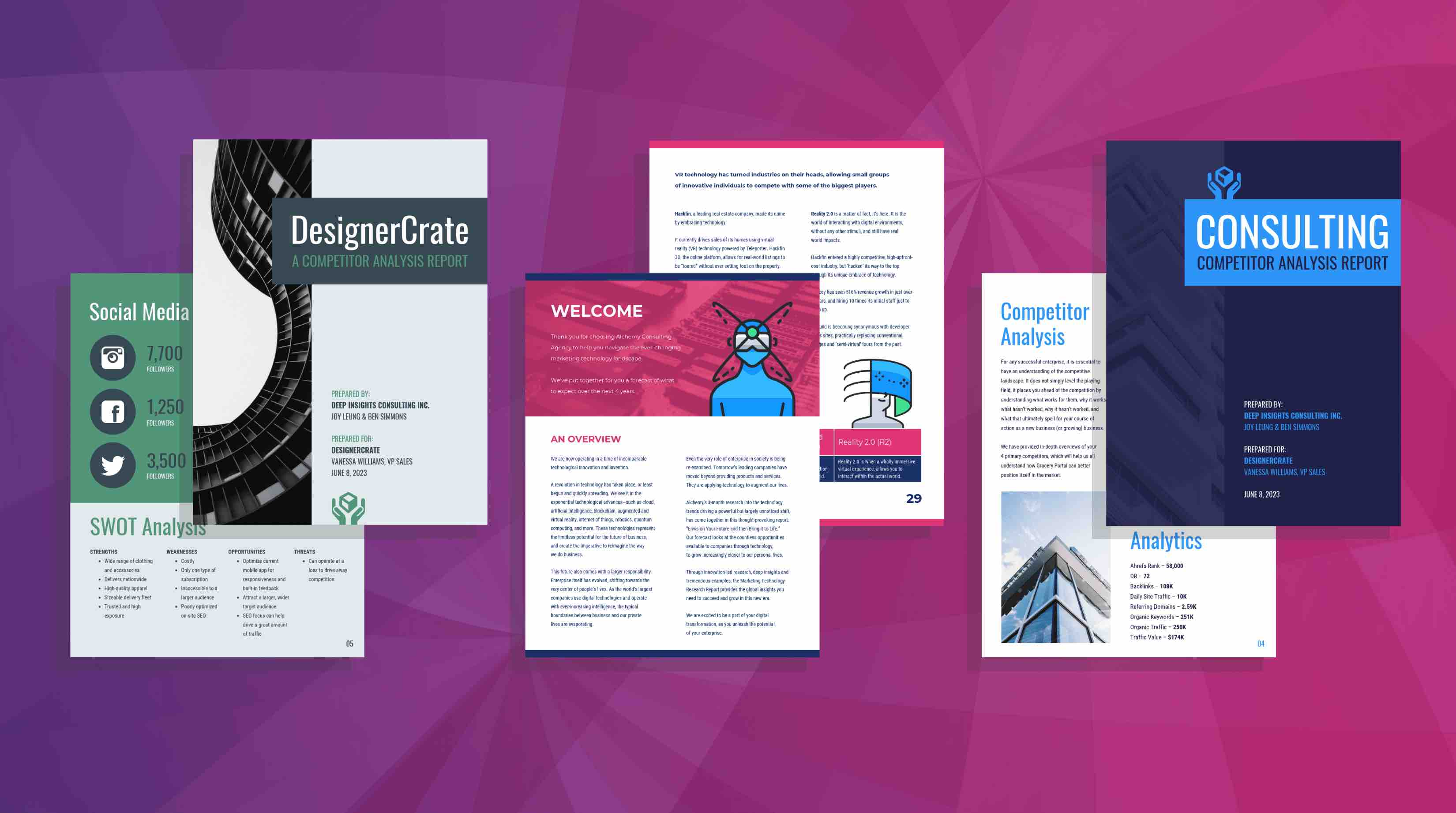 19 Consulting Report Templates That Every Consultant Needs