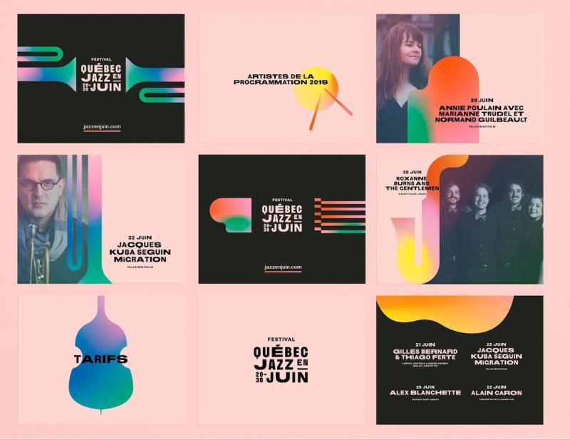 Graphic Design Trends 2020 - Color Gradients 6