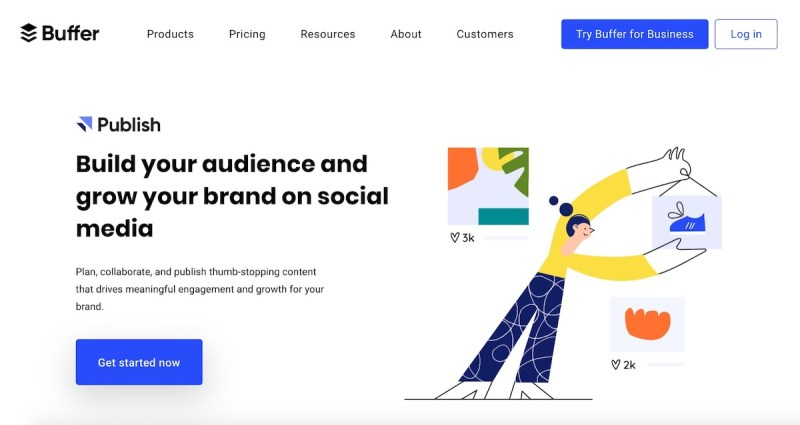 Graphic Design Trends 2020 - Minimalist Landing Pages 4