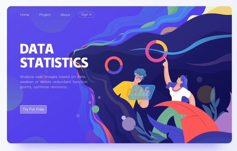 Graphic Design Trends- Flowing Shapes 7