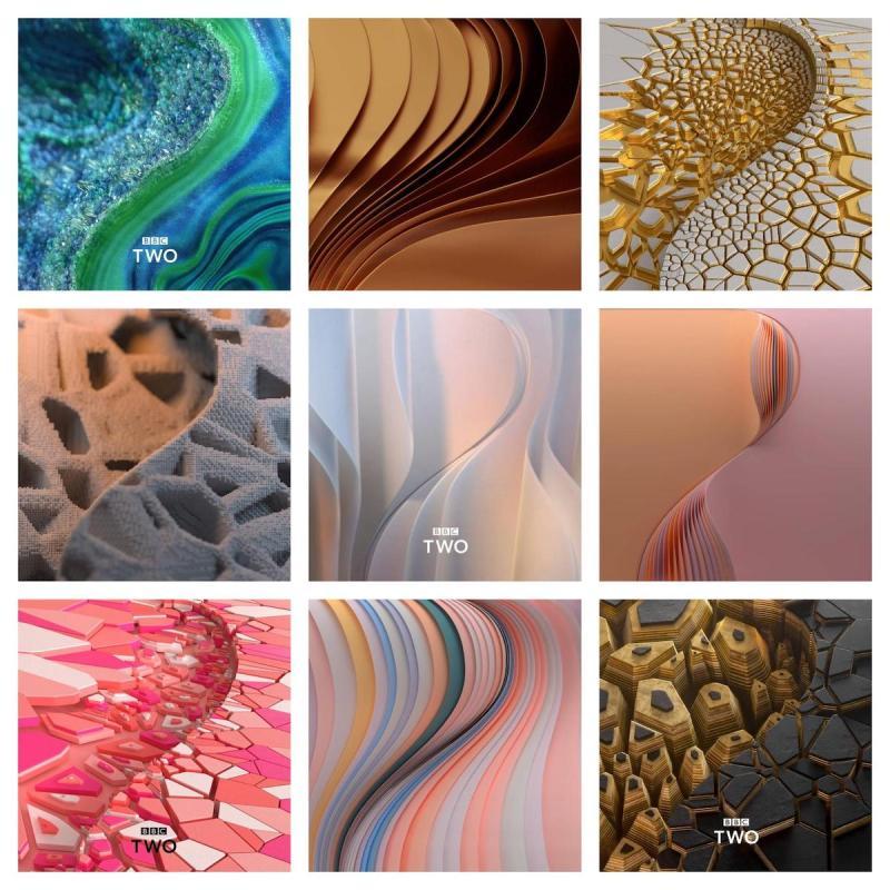 Graphic Design Trends - Futuristic Influences Are Mainstream2