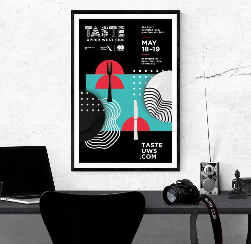 Graphic Design Trends - Light and Dark Color Schemes 4