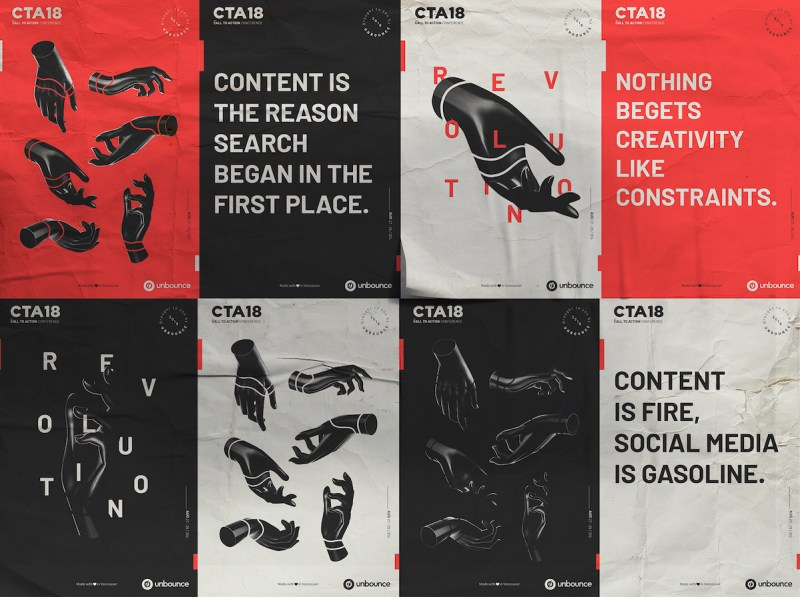 Graphic Design Trends - Strong Typographic Focal Points 3