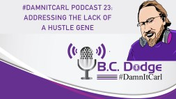 On this #DamnItCarl podcast B.C. Dodge asks– can you be a solopreneur without that hustle gene?