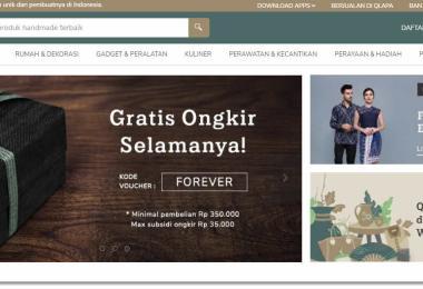 Qlapa rumahnya produk handmade indonesia