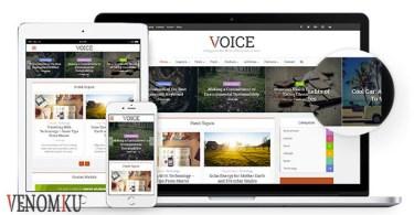 Download Theme Wordpress Voice 2.9.1 Venomku Blog terbaru