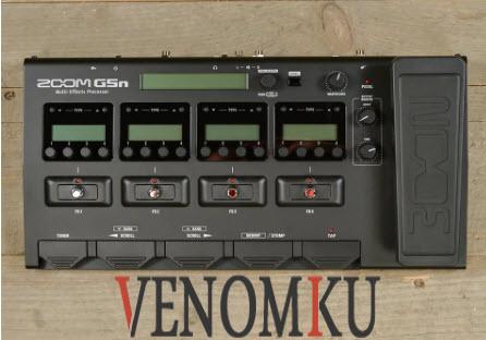 Efek Gitar Digital Zoom G5n Multi Effect Processor