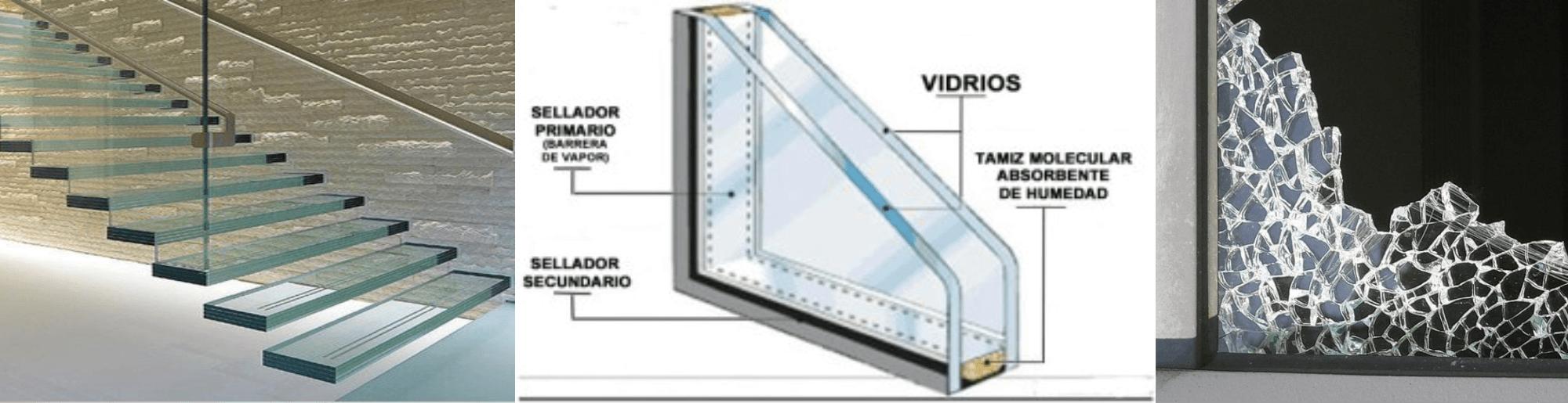 Los 3 tipos de vidrios