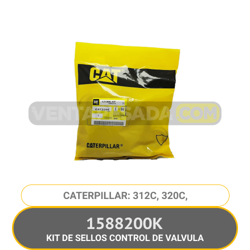 1588200K KIT DE SELLOS CONTROL DE VALVULA 312C, 320C, CATERPILLAR
