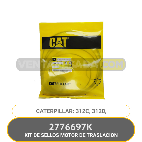 2776697K KIT DE SELLOS MOTOR DE TRASLACION 312C, 312D, CATERPILLAR