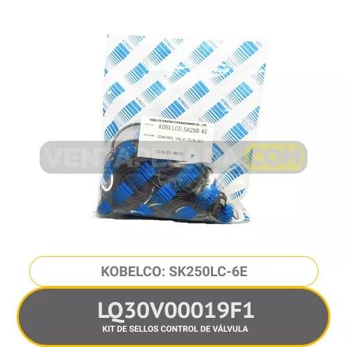 LQ30V00019F1 KIT DE SELLOS CONTOL DE VÁLVULA SK250LC-6E KOBELCO