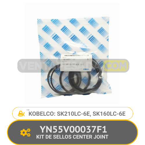 YN55V00037F1K KIT DE SELLOS CENTER JOINT SK210LC-6E, SK160LC-6E, KOBELCO