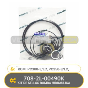 708-2L-00490K KIT DE SELLOS BOMBA HIDRAULICA PC300-8/LC PC350-8/LC KOMATSU