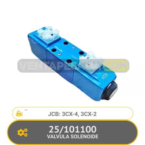 101100 VALVULA SOLENOIDE 3CX-4, 3CX-2, JCB