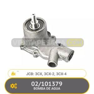 02/101379 BOMBA DE AGUA 3CX, 3CX-2, 3CX-4, JCB