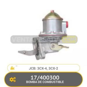 400300 BOMBA DE COMBUSTIBLE 3CX-4, 3CX-2, JCB