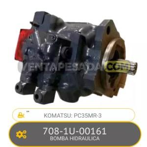 708-1U-00161 BOMBA HIDRAULICA PC35MR-3 KOMATSU