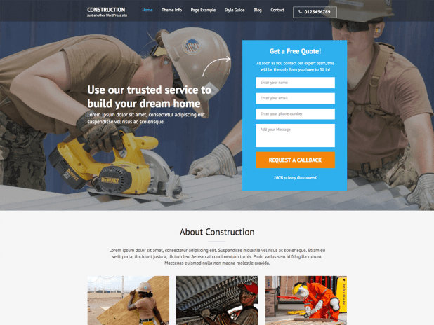Construction Landing Page (1)