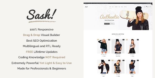 Sash - Fashion WooCommerce theme
