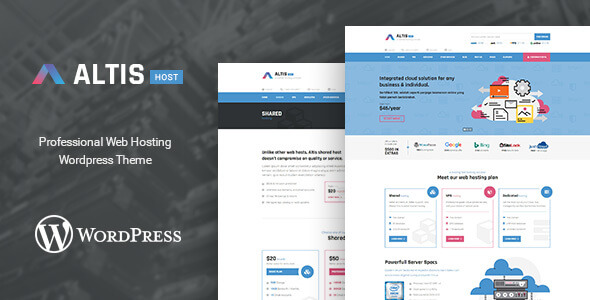 Altis - Professional Hosting WordPress Theme