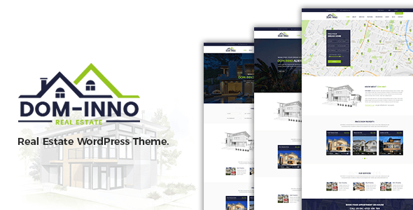 Dominno Real Estate WordPress Theme
