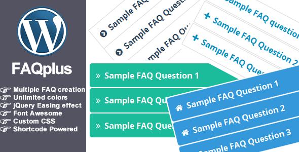 FAQPlus - WordPress FAQ Plugin