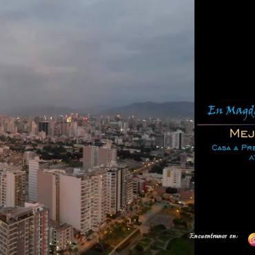 Vendo Casa en Magdalena limite San Isidro