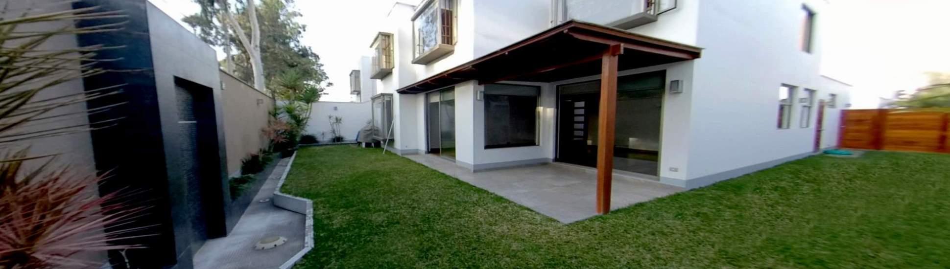Casa moderna Vista a Parque
