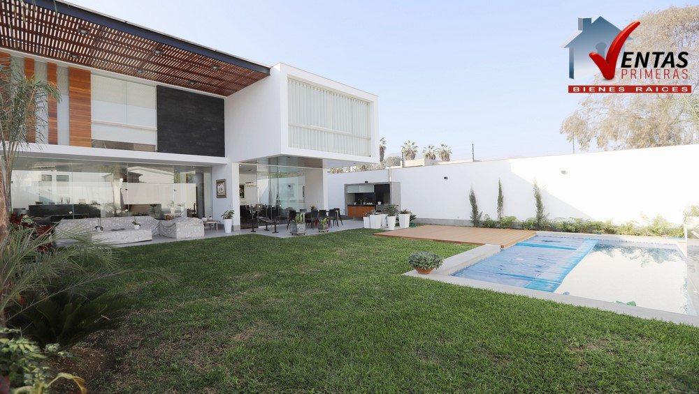 Exclusiva casa de lujo nueva