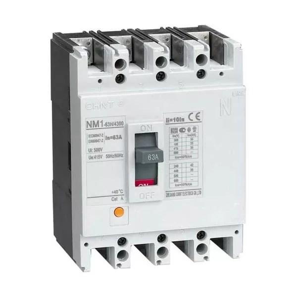 NM1 MCCB 1 CHINT NM1-603H-3P-630A