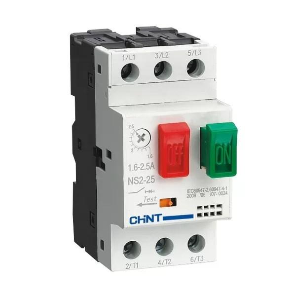 NS2 Motor Starter 1 CHINT NS2-25-10