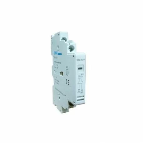 contacto auxiliar ns2 25 lateral ns2 au11 chint 3 CHINT NS2-AU11-80B