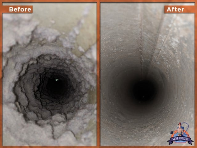 a clean dryer vent