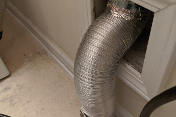 correct semi rigid dryer installation